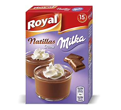 ROYAL preparado para natillas creme milka caja 150 gr
