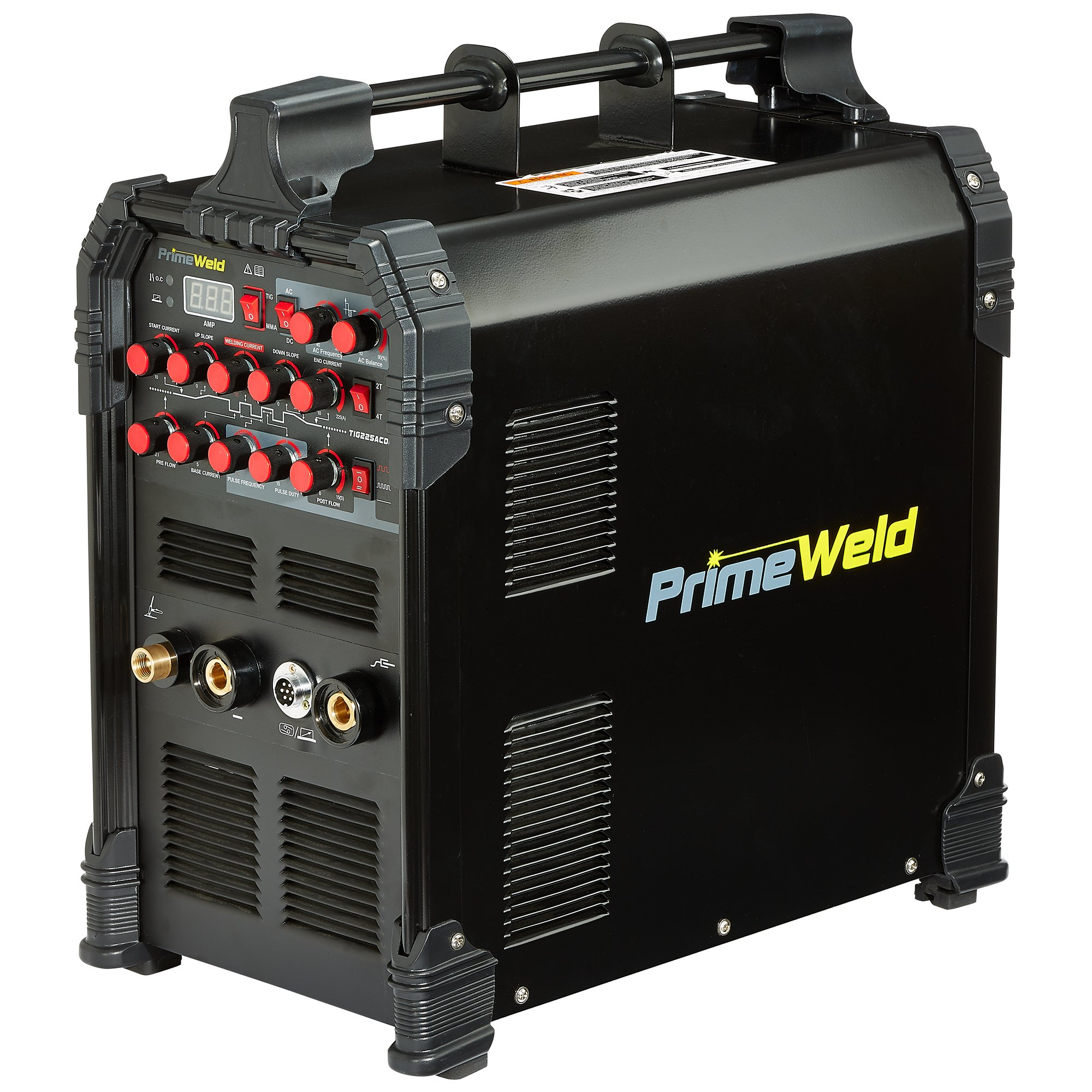 PRIMEWELD TIG225X 225 Amp IGBT AC DC Tig/Stick Welder with Pulse CK17 Flex Torch and Cable 3 Year Warranty by PRIMEWELD
