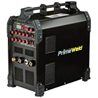 PRIMEWELD TIG225X 225 Amp IGBT AC DC Tig/Stick Welder with Pulse CK17 Flex Torch...