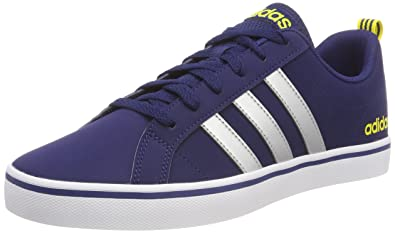 new product 5500e 99503 adidas Vs Pace, Chaussures de Gymnastique Homme, Multicolore  (DarkblueSilvmtShoyel