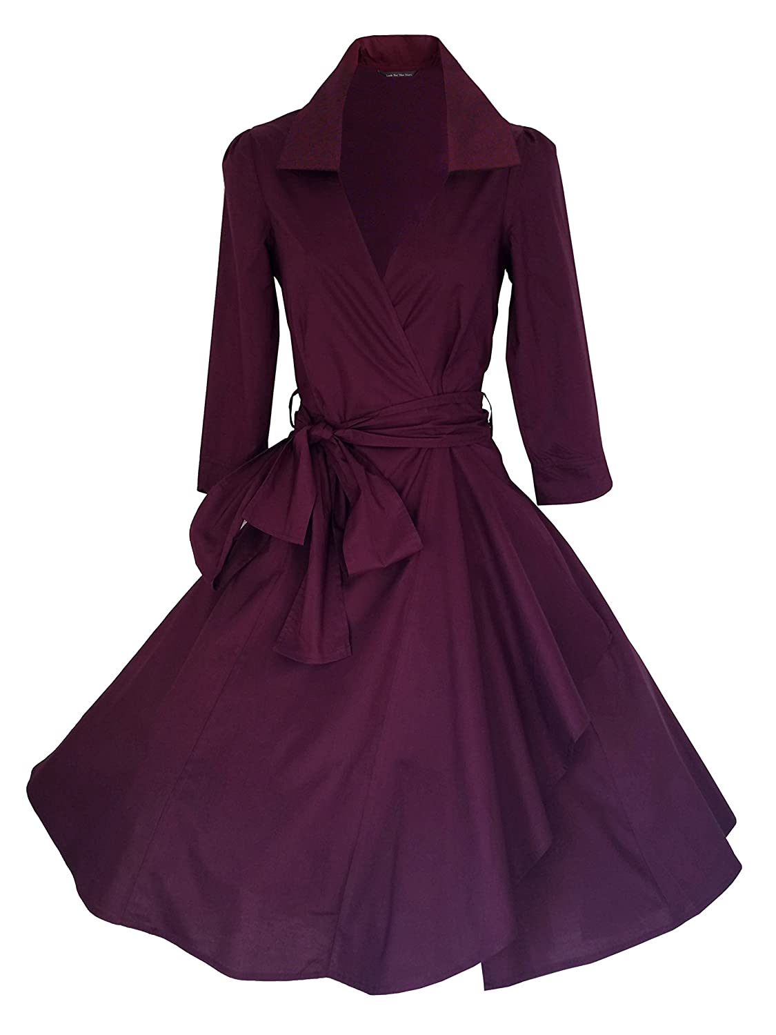 Vintage 40\'s 50\'s Style Rockabilly / Swing / Pin up Cotton Wrap ...