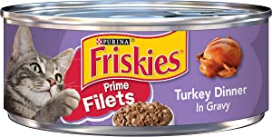 Purina Friskies Prime Filets Wet Cat Food - (24) 5.5 oz. Cans