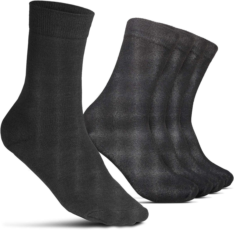 ROYALZ Business Chaussettes pour Hommes 5 Paires de Chaussettes D/écontract/ées pour les loisirs et quotidien Pack de 5