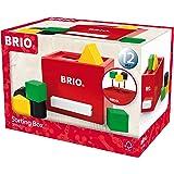 BRIO 形合わせボックス(レッド) 30148