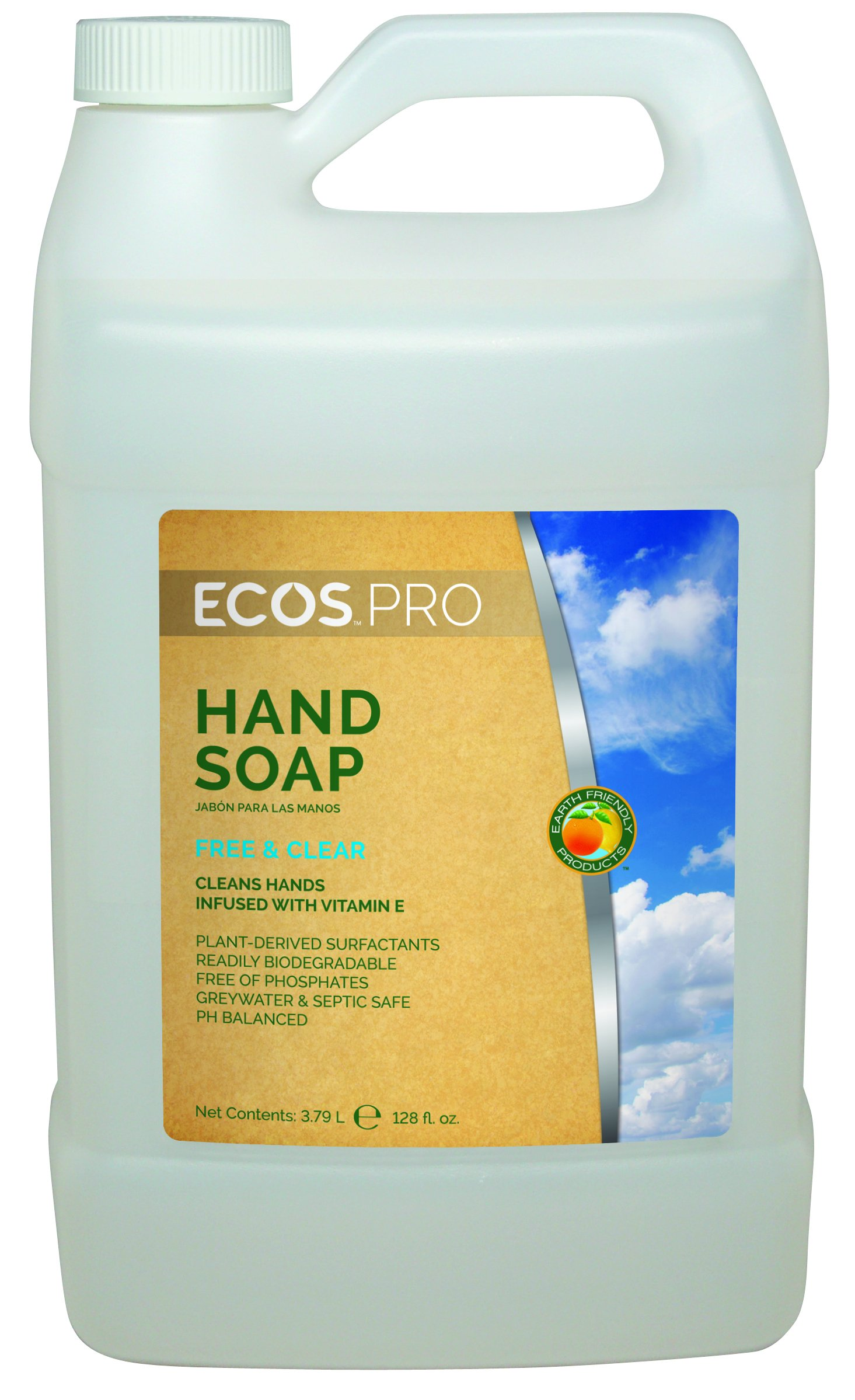ECOS PRO PL9663/04 Free and Clear Hand Soap (Pack of 4) by ECOS PRO (Image #1)