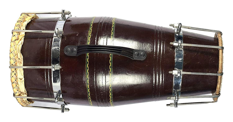 優先配送 Makan Dark Brown B07NHXG58C Naal Brown Carry Bolt Tuned Dhol/Dholak/Dholki Drum With Carry Bag B07NHXG58C, チブムラ:992b593a --- a0267596.xsph.ru
