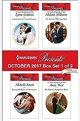Harlequin Presents October 2017 - Box Set 1 of 2: An Anthology Kindle Edition