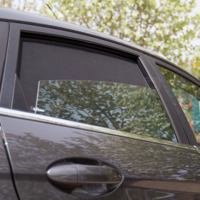 Laitovo La-V-1400 Premium Tailored Privacy Rear Window Sunshade Set