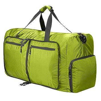 0221d546faba 80L Foldable Duffle Bag, Lightweight Waterproof Large Travel Duffel  Bag,Camping Duffle Bag Large Size,Gym Bag for Men and Women