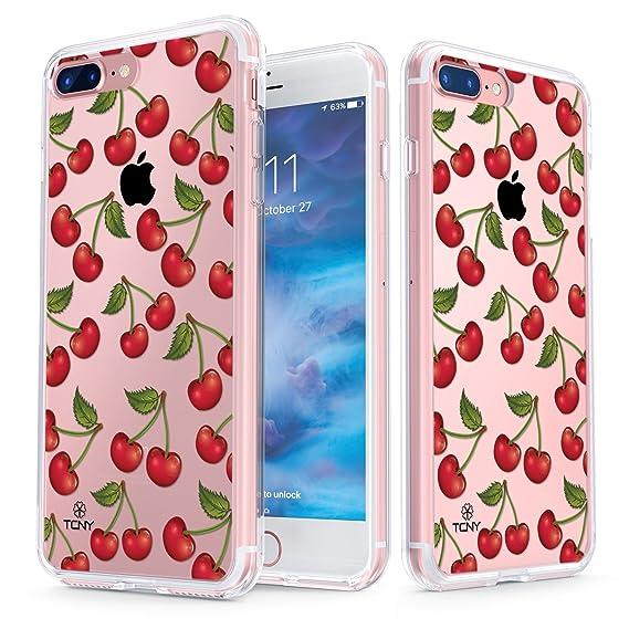 timeless design dd56b 83106 Amazon.com: True Color iPhone 7 Plus/iPhone 8 Plus Cherry Case ...