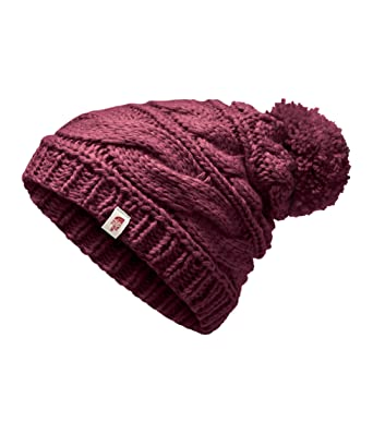 b66c0805373cb The North Face Women s Triple Cable Beanie - Fig - OS at Amazon Women s  Clothing store