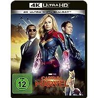 Captain Marvel [4K Ultra HD] [Blu-ray]