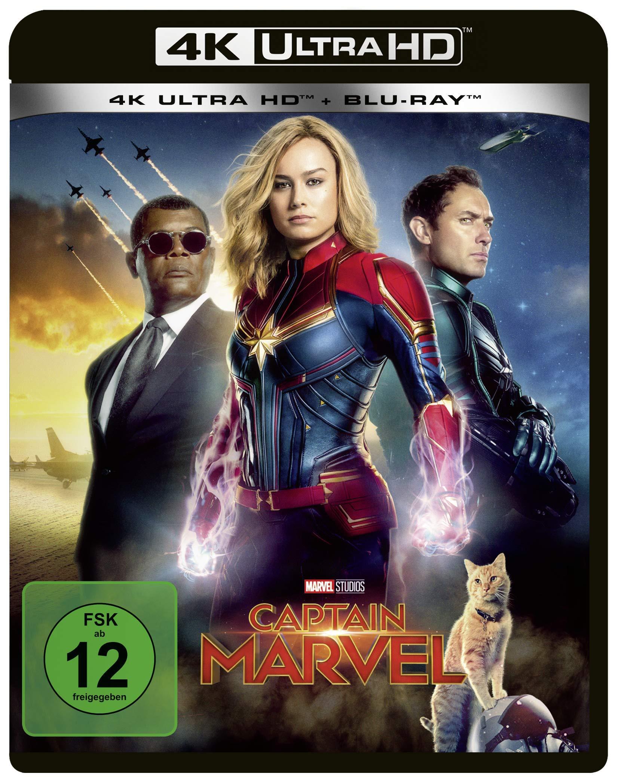 Captain Marvel: 4K Ultra HD Blu-ray + Blu-ray: Amazon.es: Boden, Anna, Colan, Gene, Flahive, Liz, Fleck, Ryan, Lefauve, Meg, Mensch, Carly, Perlman, Nicole, Robertson-Dworet, Geneva, Thomas, Roy, Chan, Gemma, Larson, Brie, Grace,