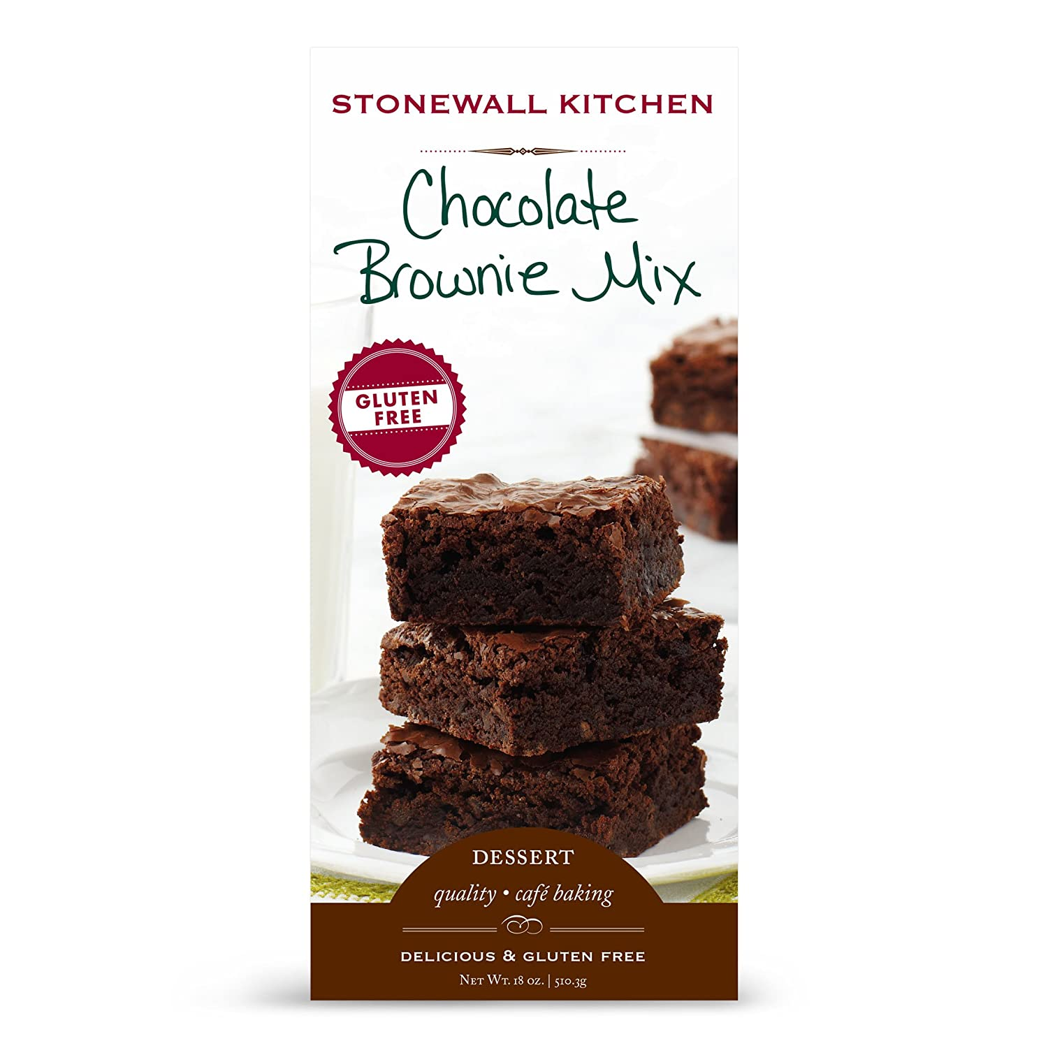 Amazoncom Stonewall Kitchen Gluten Free Chocolate Brownie Mix