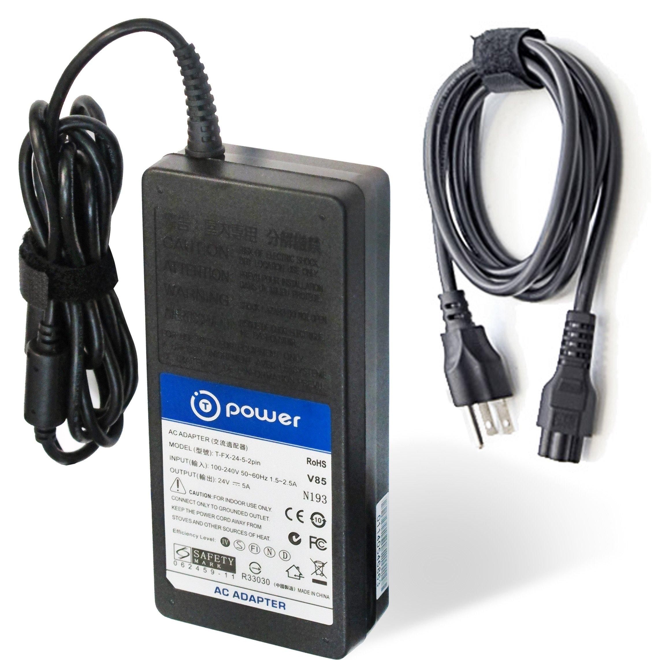 T-Power Ac dc adapter for 24V ( 4-Pin ) Fixed Circular Locked Plug TFT / LCD TV Targa LT3010 FSP180-AAA FSP FSP150-AAAN1 9NA1501700 FSP150-ABB 9NA1500900 FSP150-ABA Charger Power Supply Cord