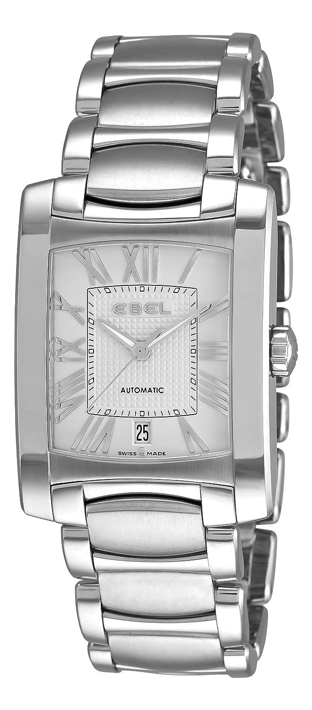 Ebel Herren 9120M41-62500 Brasilia rÖmischen Ziffer Silver Zifferblatt