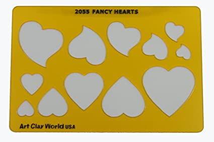 amazon com artistic design template fancy hearts