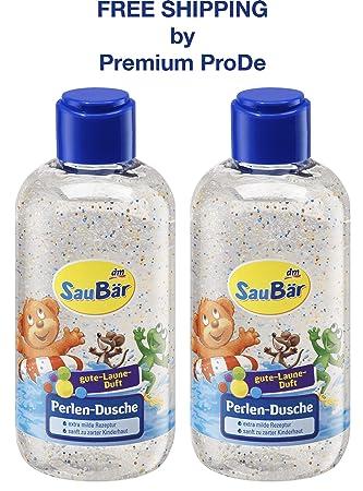 Amazon.com: Gel de ducha Pearl para piel de bebé tierna 2 x ...