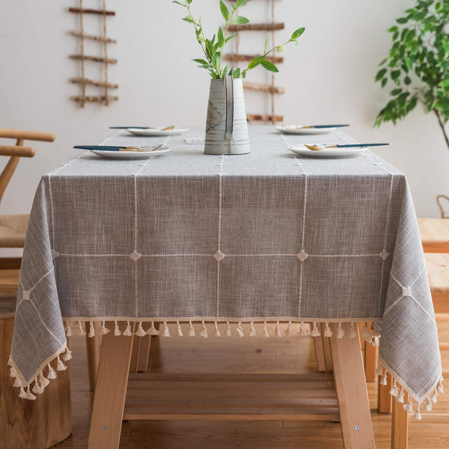 Hand-made tablecloth with matyo pattern Authentic black material,heartfringe3947