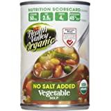 HEALTH VALLEY Organic No Salt Vegetable Soup, 15 OZ