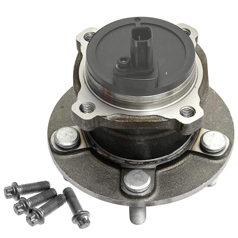 Cuscinetto Ruota con mozzo ruota ABS Sensore e viti assale posteriore destra o sinistra 1/X Cuscinetto Ruota Set
