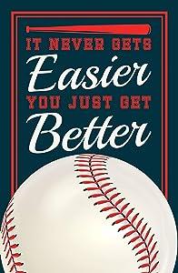 Damdekoli Baseball Quote Poster - 11x17 Inches