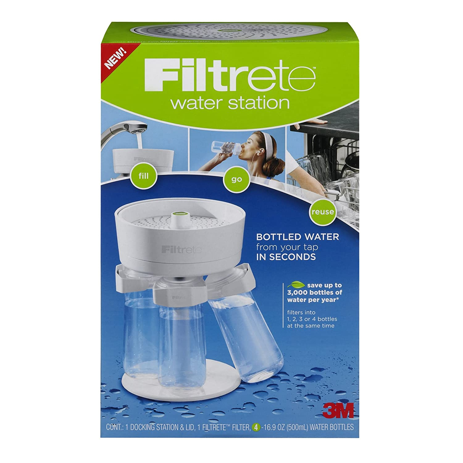 Amazon.com: 3M Filtrete Water Station: Pitcher Water Filters ...