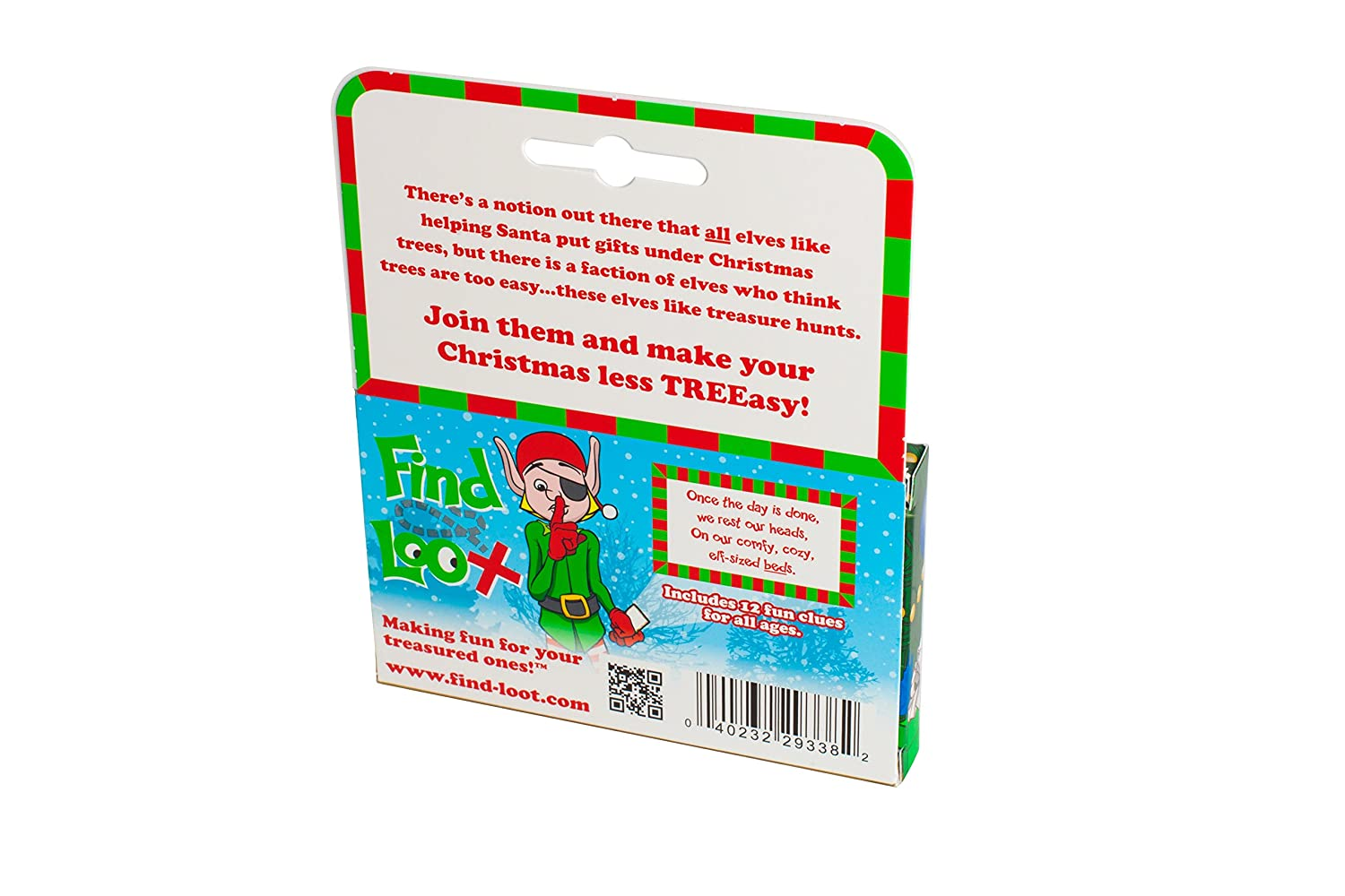 Amazon.com: Find Santa\'s Loot Christmas Gift Treasure Hunt: Toys & Games