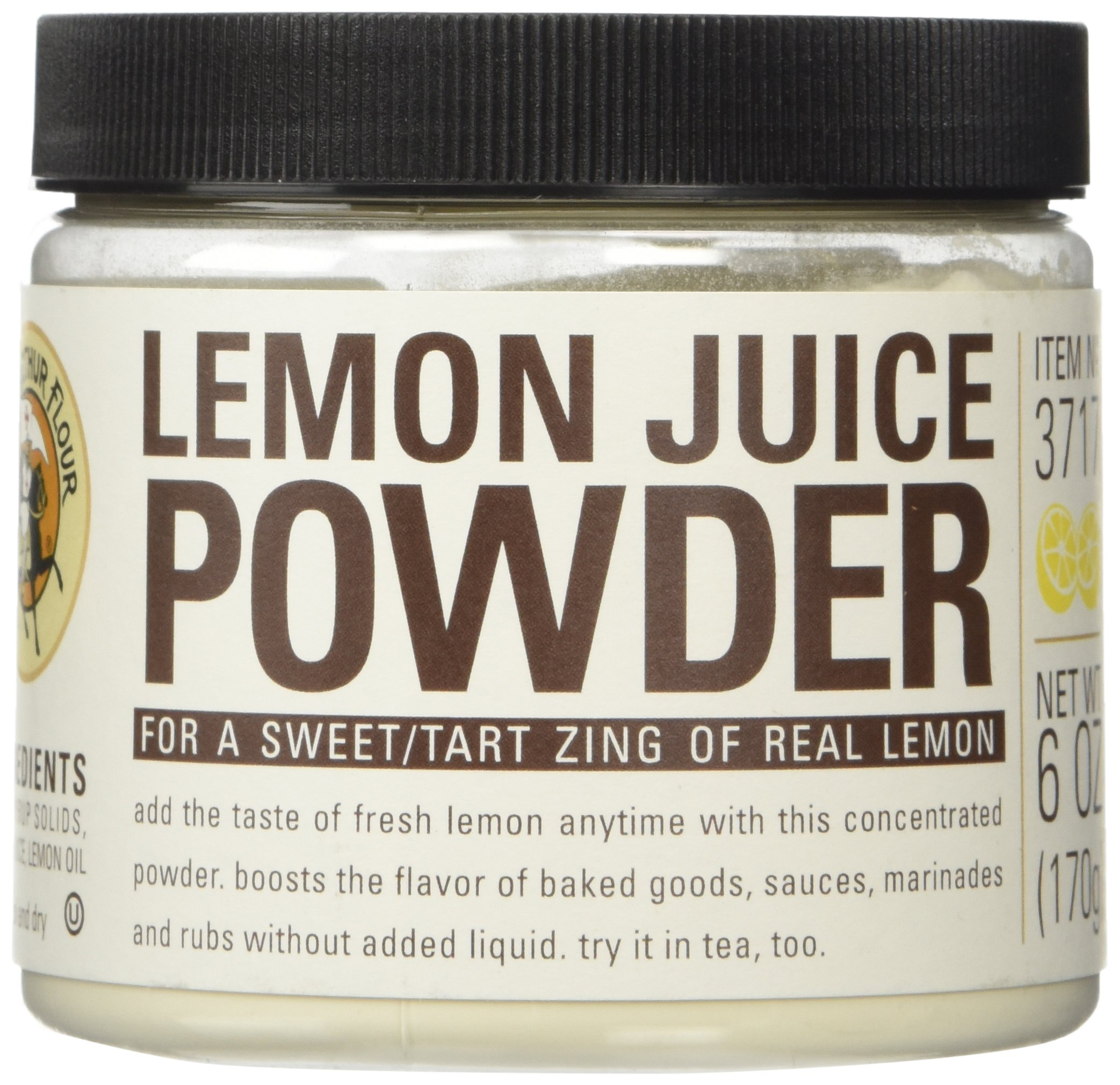 King Arthur Flour Lemon Juice Fruit Powder - 6 oz. by King Arthur Flour (Image #1)