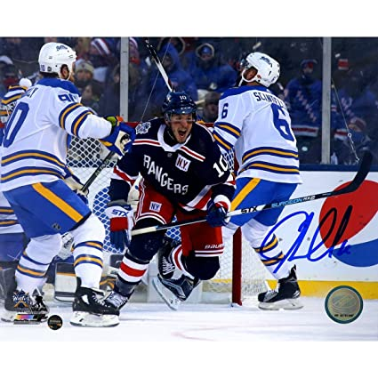 Image Unavailable. Image not available for. Color  JT Miller Signed  2018  Winter Classic ... 995c7e767