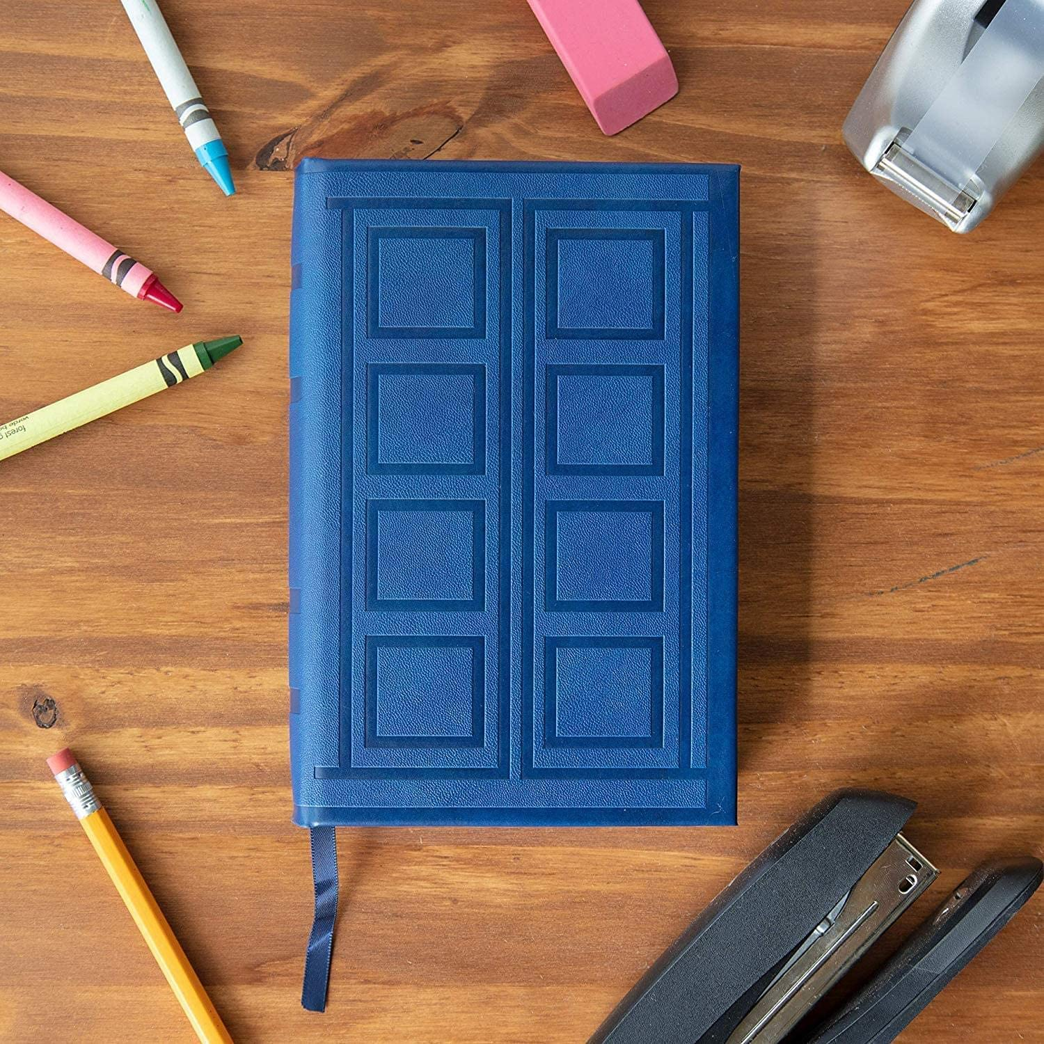 Hardcover Diary with 200 Blank Pages and Bookmark 4.5 x 7 inches Doctor Who River Song Journal