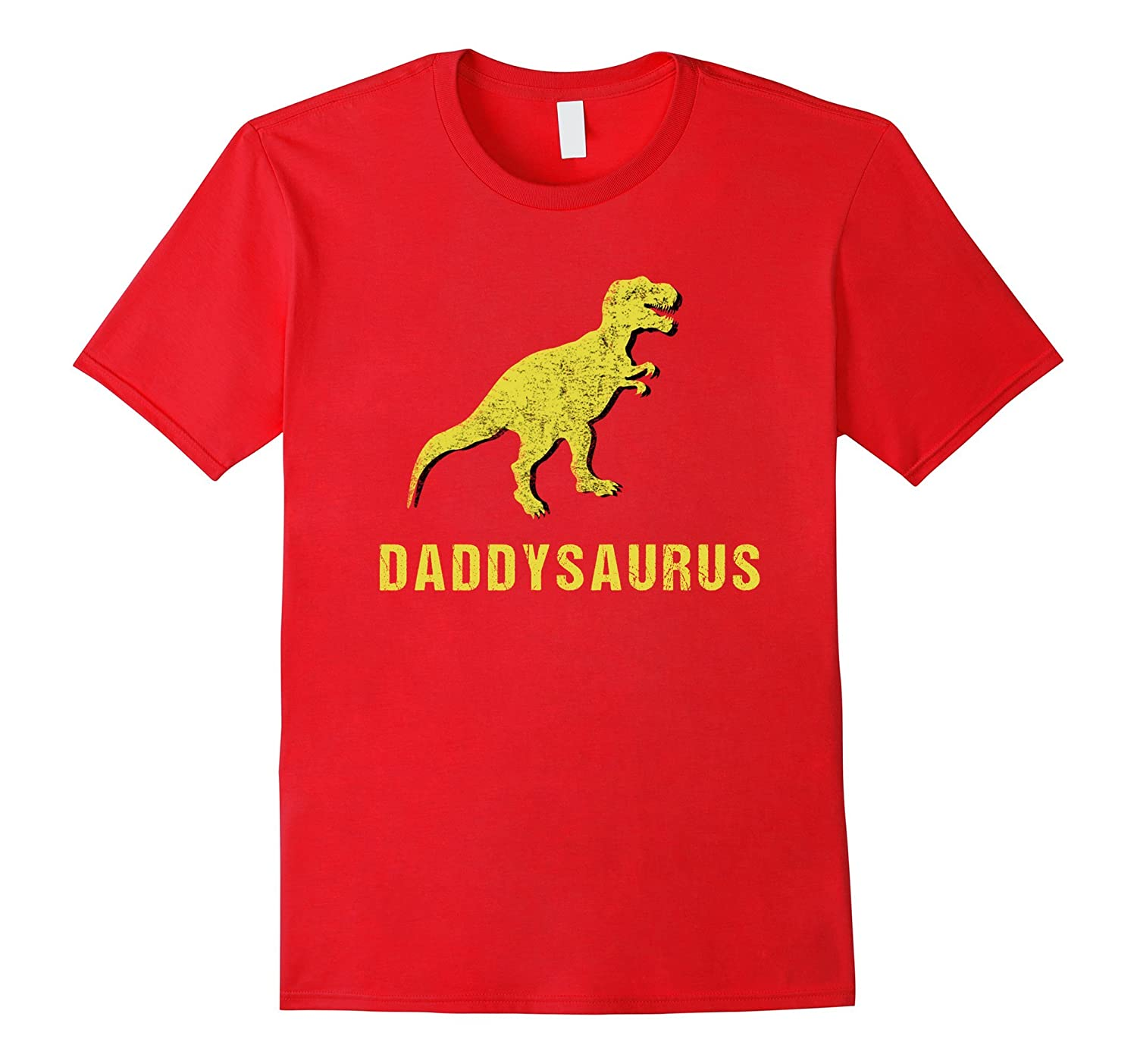 Daddysaurus Shirt Funny Fathers Day Gift from Kids Toddler-PL