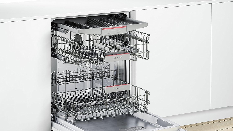 Bosch Serie 4 SMV46MX03E Totalmente integrado 14cubiertos A++ lavavajilla - Lavavajillas (Totalmente integrado, Tamaño completo (60 cm), Acero ...