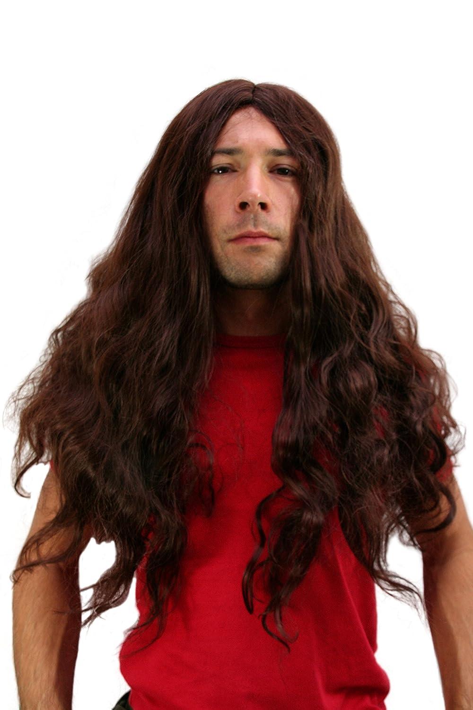 Opaco PW0188-K33 Parrucca: Metal Hippie WIG ME UP /® Headbanger,Trash