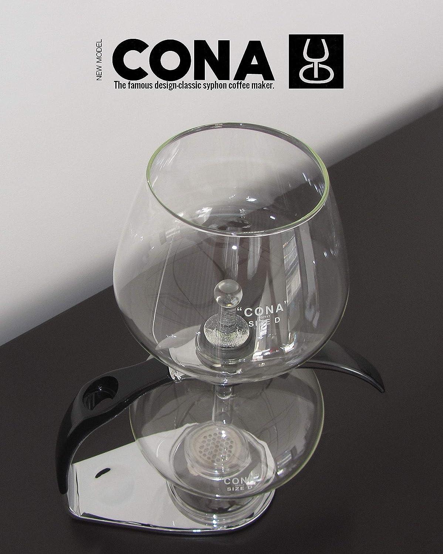 CONA Size D-Genius All-Glass cafetera de vacío.: Amazon.es ...