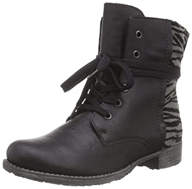 bb4b4f291c81 Rieker 70802 Damen Halbschaft Stiefel  Amazon.de  Schuhe   Handtaschen