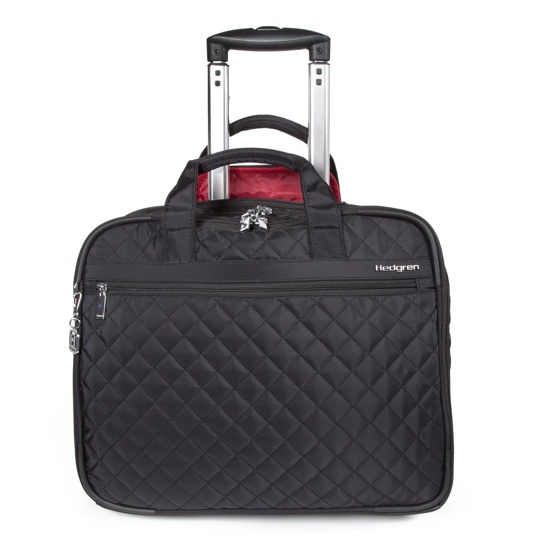 Hedgren Cindy Business Trolley 15.6 Briefcase, Black by Hedgren