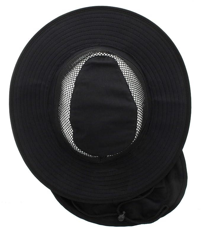 d90dee169f658 JFH Wide Brim Bora Booney Outdoor Safari Summer Hat w Neck Flap   Sun  Protection at Amazon Men s Clothing store