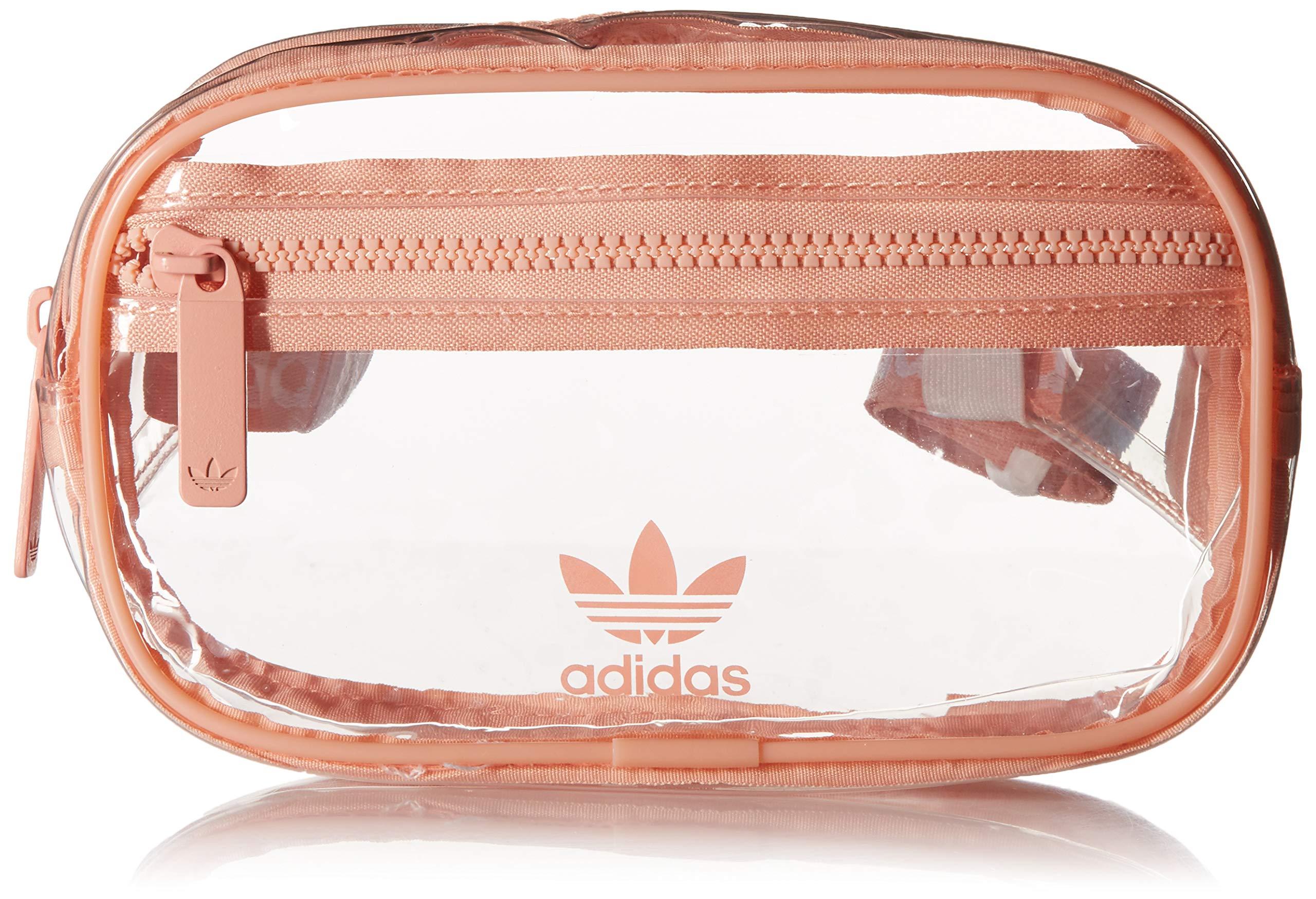 adidas Originals Originals Clear Waist Pack, Dust Pink, One Size by adidas Originals