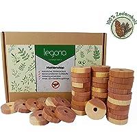 Legona Natürlicher Bio Mottenschutz aus Zedernholz / 100% Naturprodukt - Ohne Chemie