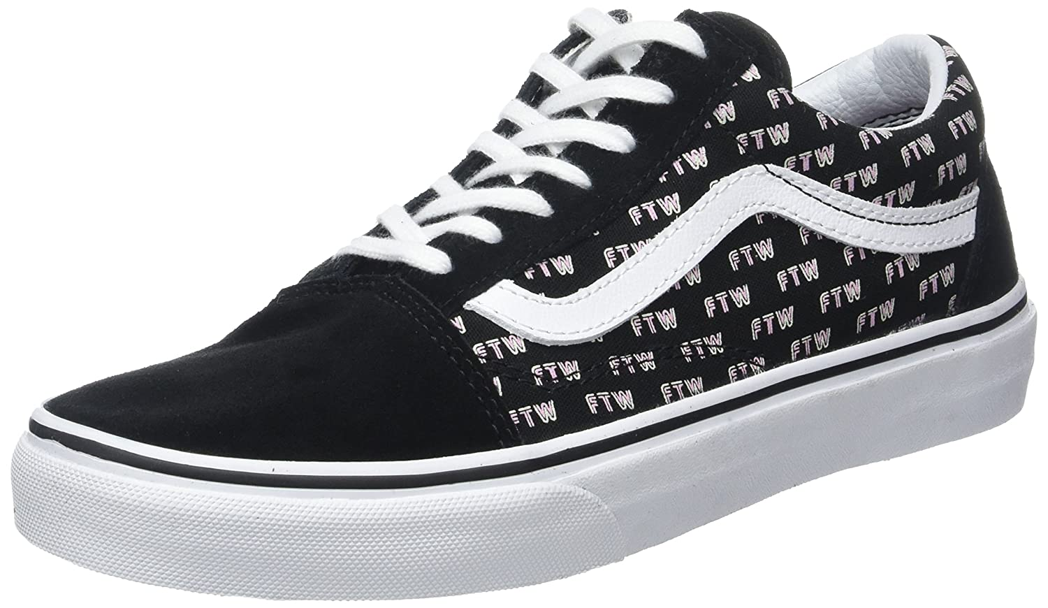 save off 51155 54783 Vans Damen UA Old Skool Sneaker 38.5 EUSchwarz (Sayings Black) - associate- degree.de