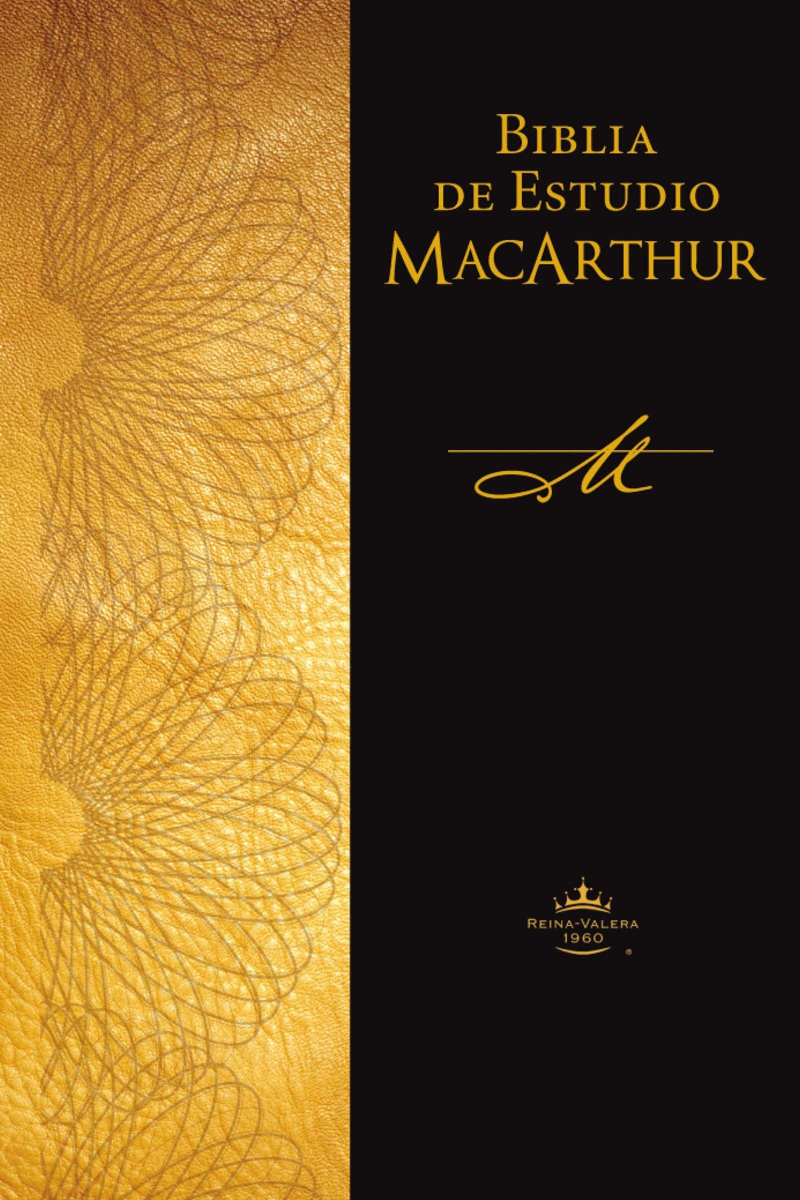 Biblia de Estudio MacArthur-Rvr 1960: Amazon.es: John F. MacArthur: Libros