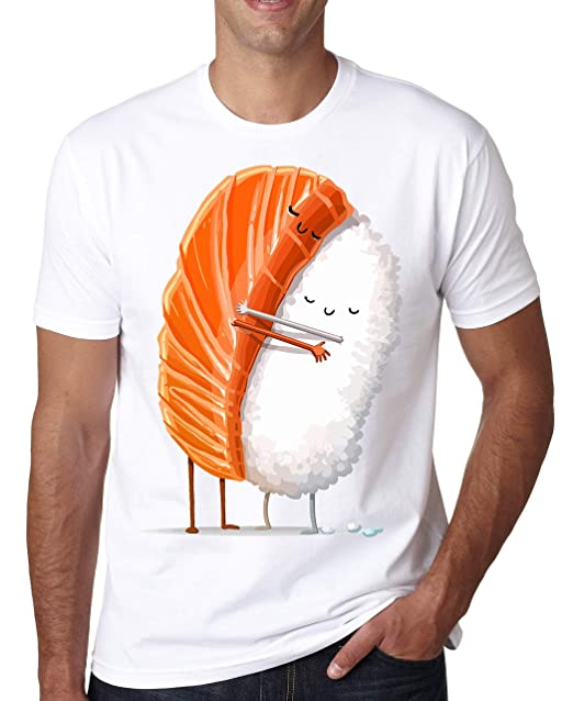 Up Hug itAbbigliamento Maglietta Da Shut UomoAmazon Sushi zGqSpUMV