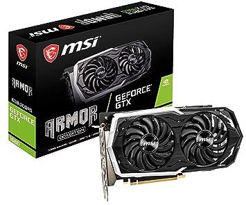 MSI GeForce GTX 1660 DirectX 12 6GB 192-Bit GDDR5 PCI Express 3 0 x16 HDCP  Ready Video Card Model GTX 1660 Armor 6G OC