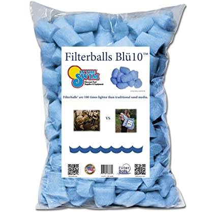 In The Swim FilterBalls Advanced Replacement Sand Pool Filter Media - 1  Pound