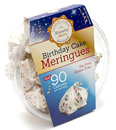 Brilliant Original Meringue Cookies Birthday Cake 90 Calories Per Personalised Birthday Cards Paralily Jamesorg