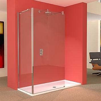 1700 x 700 ducha con mampara paneles cerramiento: Amazon.es ...