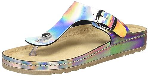 Rohde Damen Riesa Zehentrenner  Amazon  Handtaschen  Schuhe & Handtaschen  9636e1