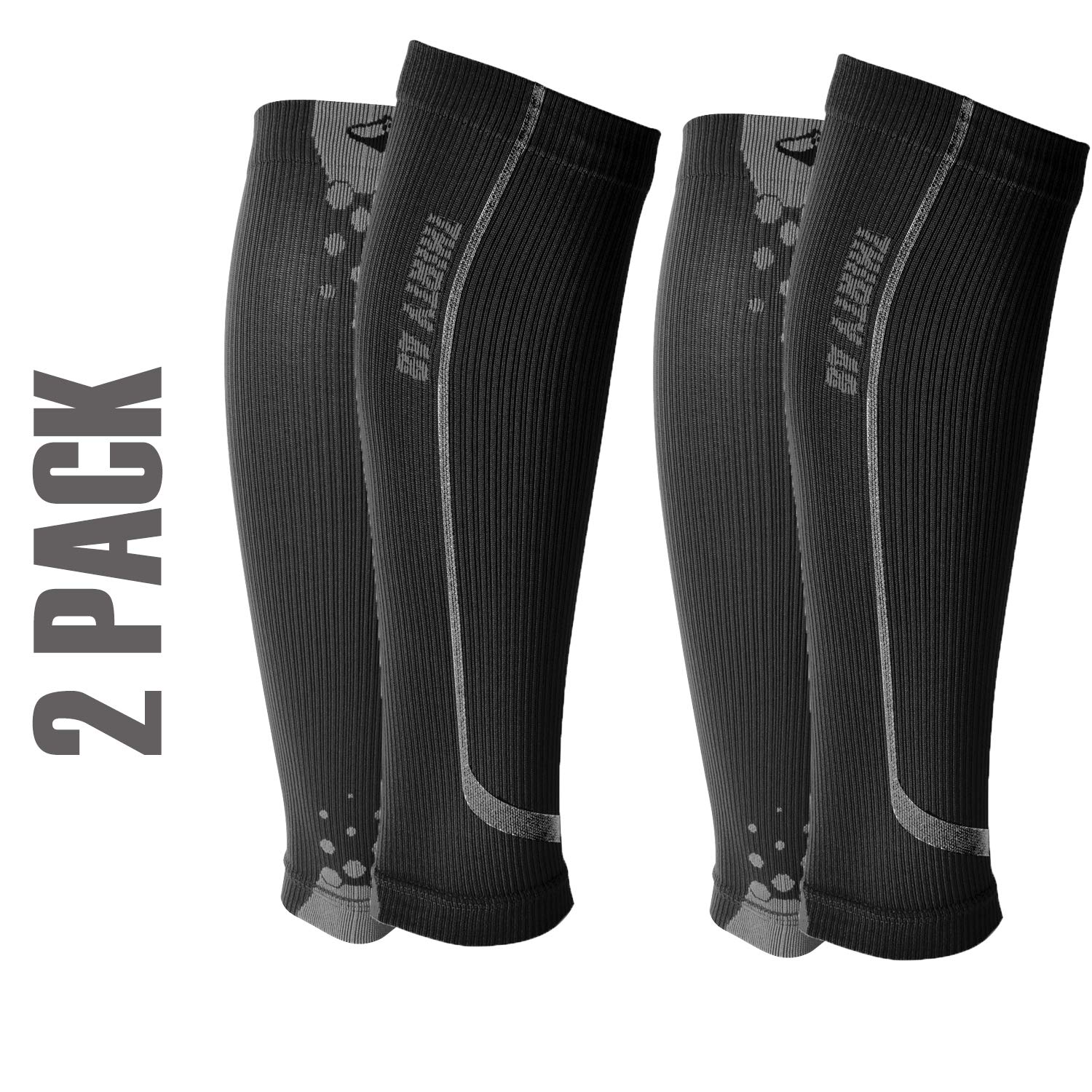 Graduated Calf Compression Sleeves by Thirty48 | 15-20 OR 20-30 mmHg | Maximize Faster Recovery by Increasing Oxygen to Muscles by Thirty 48