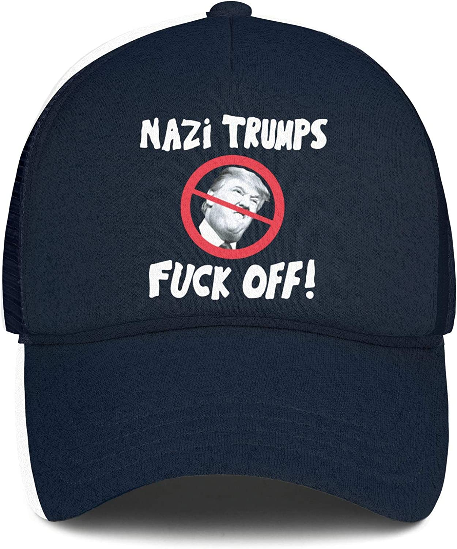 JDHASA Fuck-Trump-2020-white-face Baseball Caps for Men Ball Cap Dad Hats